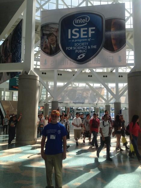 Volunteering at The Intel ISEF, an international science fair