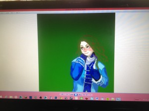 Vivian, One of the 2 main characters for Sean's new game. It is not finished yet.