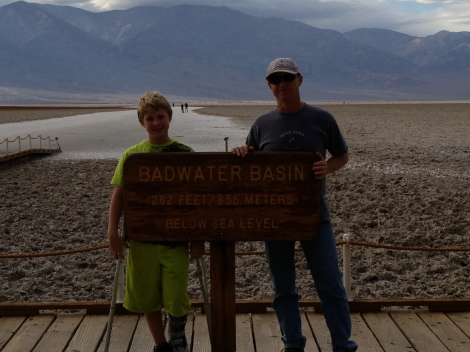 We visited Bad Water in Death Valley while we were there to see a meteor shower.