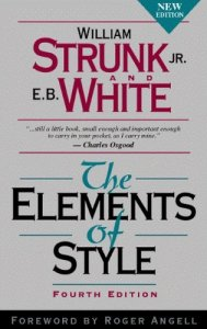 Strunk and White's The Elements of Style