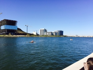 Tempe Town Lake, where the Desert Sprints were held