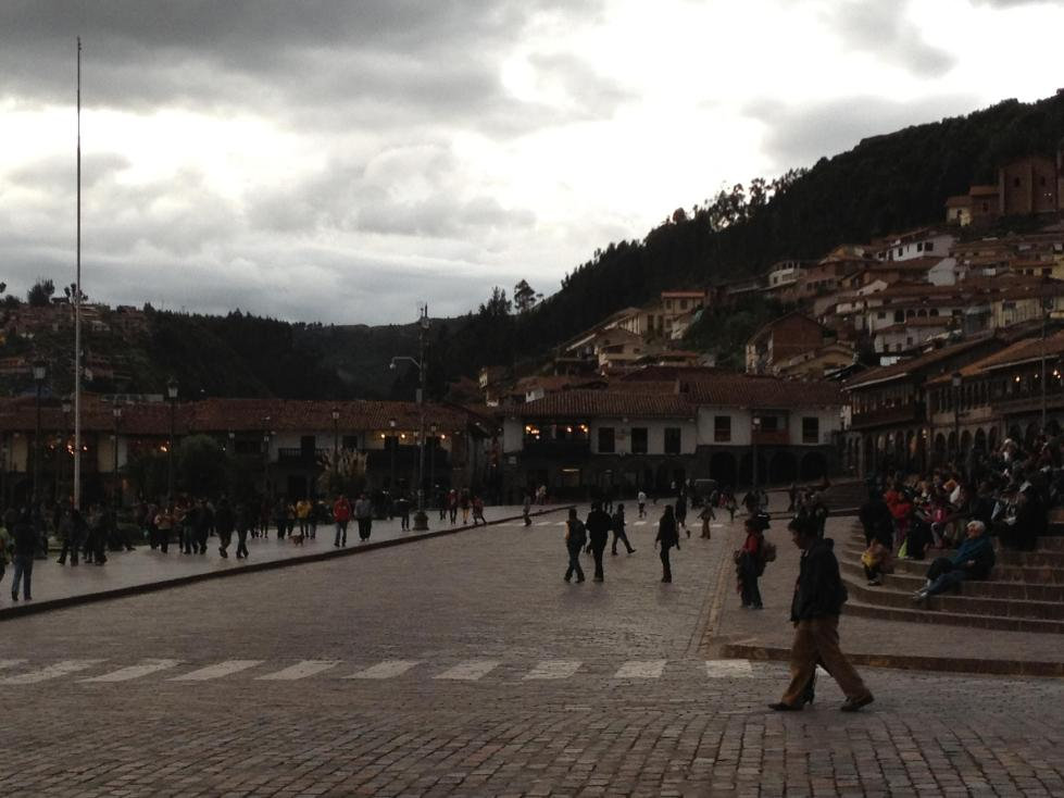 Cuzco Peru day five evening