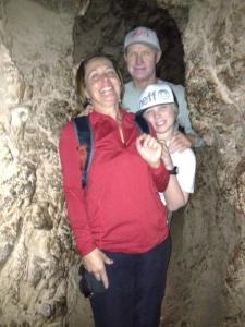 family photo cave