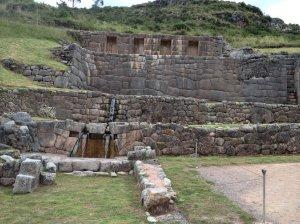 Incan baths to